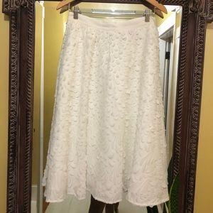 Catherine Malandrino white long skirt.